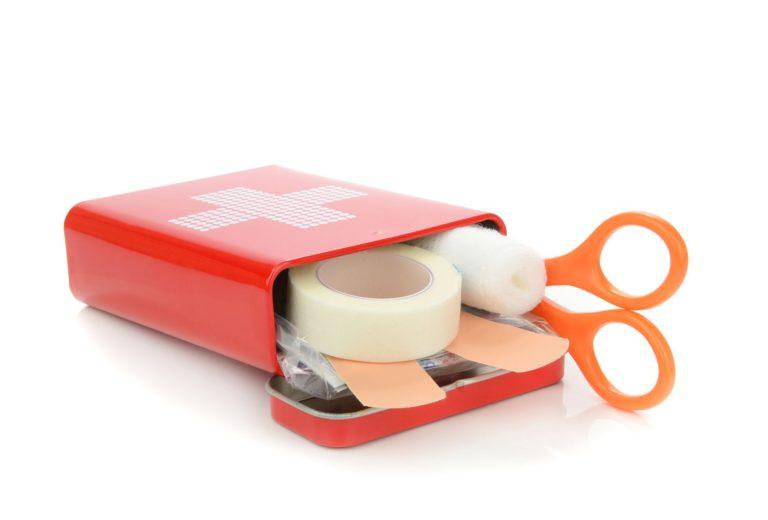Wundversorgung Ausrüstung